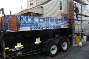 U.S Chimney Corp Truck